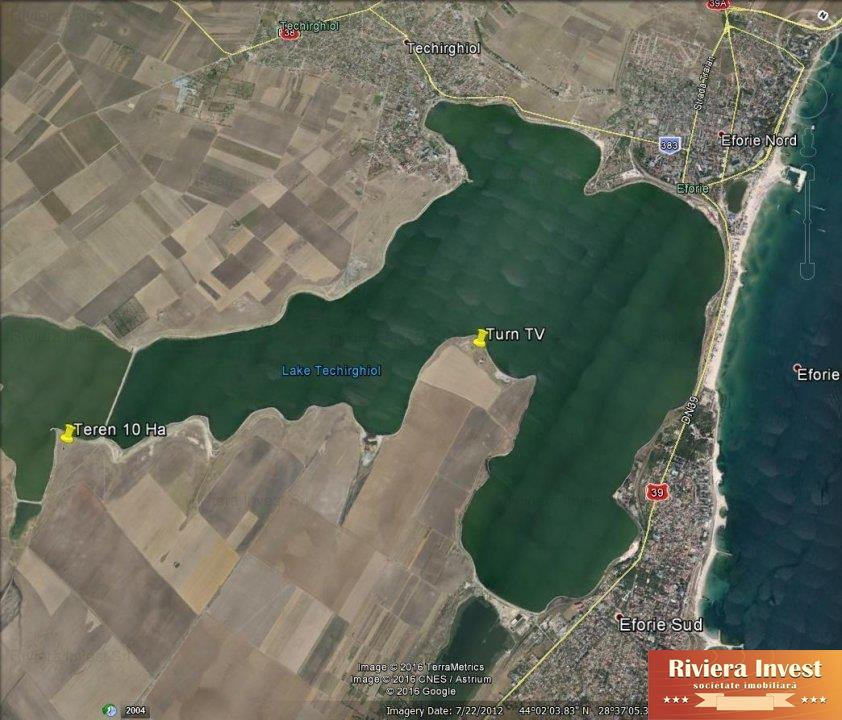 TuzlaTeren 10Ha cu deschidere la Lacul Techirgiol