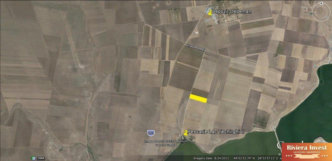 Techirghiol,Lac loturi de teren 500mp. PLATA IN RATE PANA LA 2 ANI